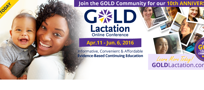 GOLD Lactation 2016 van start!