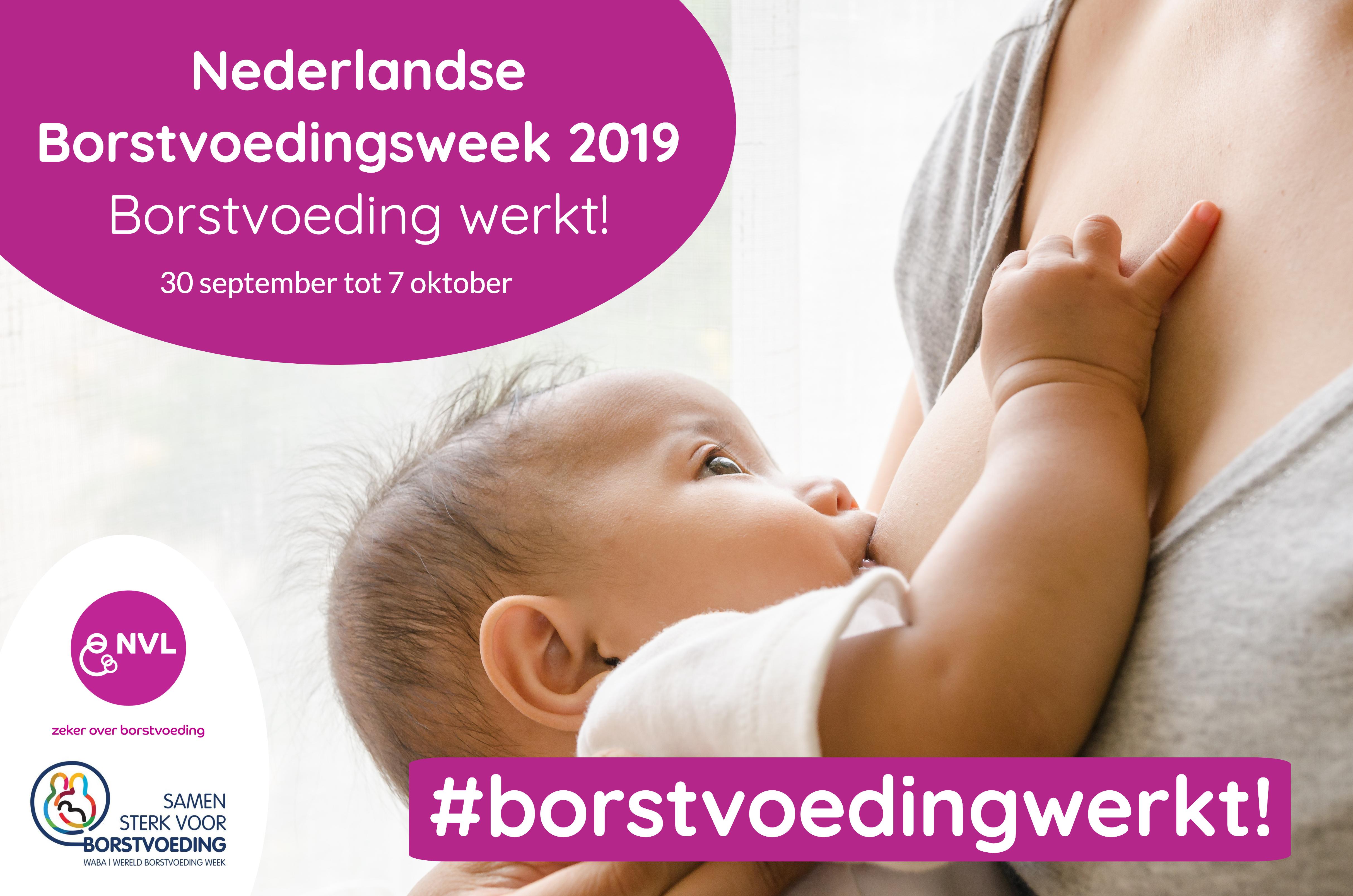 #borstvoedingwerkt! NVL + WABA, Baby Aan De Borst