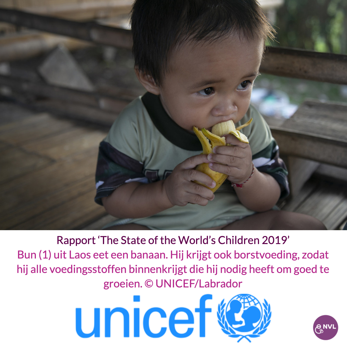 UNICEF Publiceert Rapport 'The State Of The World's Children 2019'